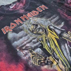 Tops - Iron Maiden Tie Dye T-Shirt
